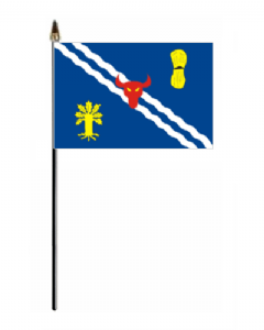 Oxfordshire Hand Flag - Small.